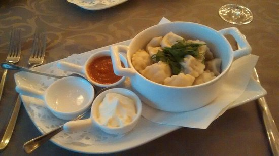 1913 Restaurant: Siberian ravioli