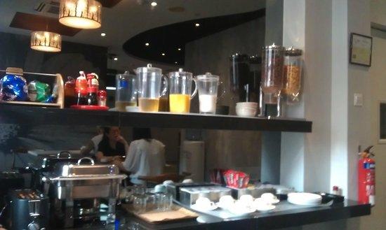 Keong Saik Hotel: breakfast