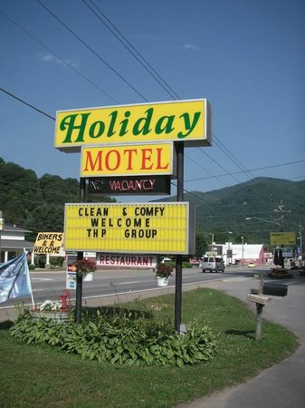 A Holiday Motel : Fine welcome to my group of Harley riders