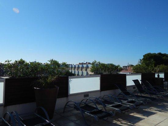 Hotel Villamarina Club: View from roof terrace