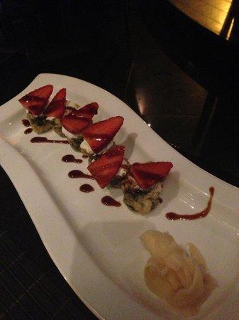 Ginza Gold : starwberry maki