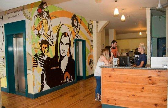 Ashfield Hostel: Reception