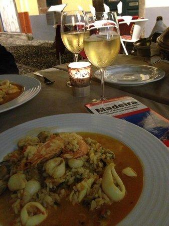 Taberna Ruel: рис с морепродуктами