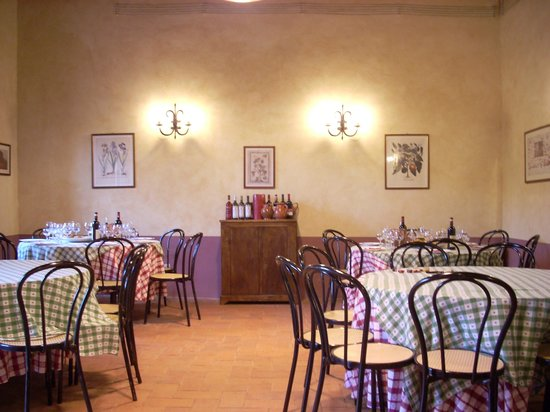 Caf Florence, Tuscany & Italy Tours : wine tasting room