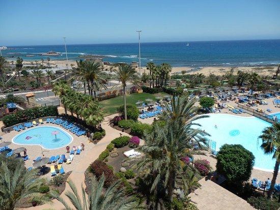 Hotel Elba Sara: View from bedroom floor 6