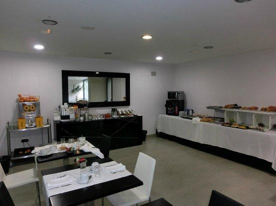 Hotel Spa Niwa: Salón de desayunos