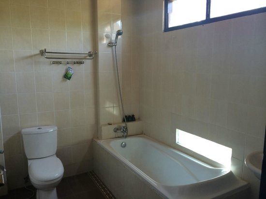 Bisma Sari Resort : Bathroom