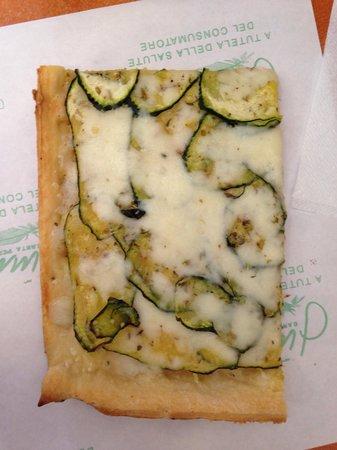 Pizzaland: Pizza aux courgettes