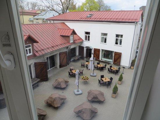 von Stackelberg Hotel Tallinn: yard