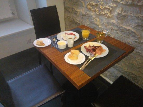 von Stackelberg Hotel Tallinn: breakfast