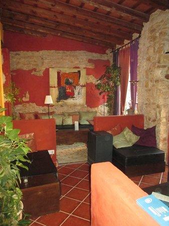 Hotel Peralta: Zona de copas Hotel