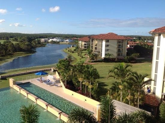Pelican Waters Golf Resort & Spa : view from room 414