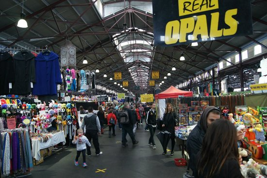 Queen Victoria Market : This is the area where you can find lots of jewelleries, clothings, souvenirs etc.