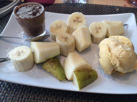 La Brochette : Une parfaite brochette dessert vraiment très bonne !