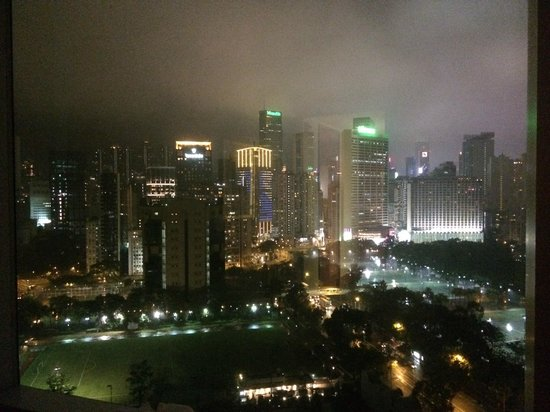Metropark Hotel Causeway Bay Hong Kong: The view from our room