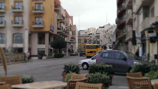 Maritim Antonine Hotel & Spa : view from greystones
