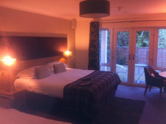 Craigmhor Lodge & Courtyard: Super Kingsize Bed