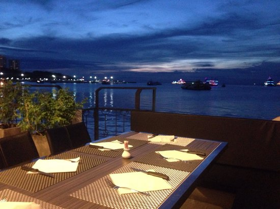 Restaurant L'Italiano : Terrace