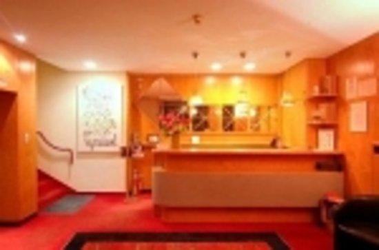 Hotel le Calandre: la reception