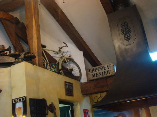 La Boustifaille : Décor bicyclette