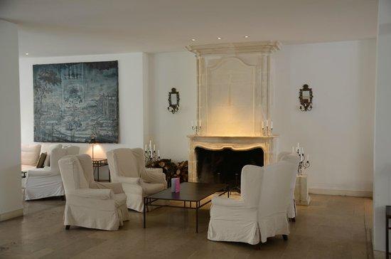 Résidence de France : Salon de l'hôtel