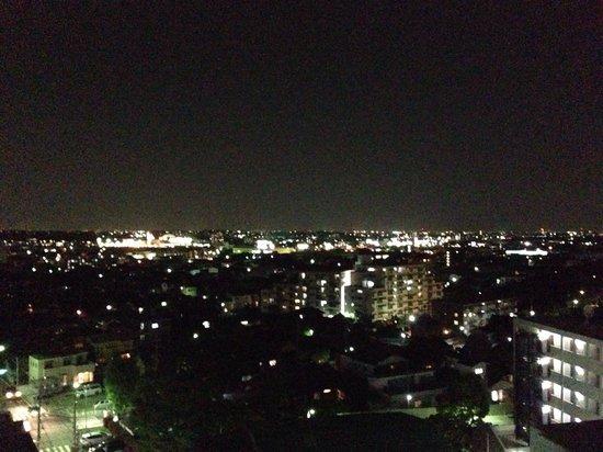 Candeo Hotels Handa: スカイスパからの夜景