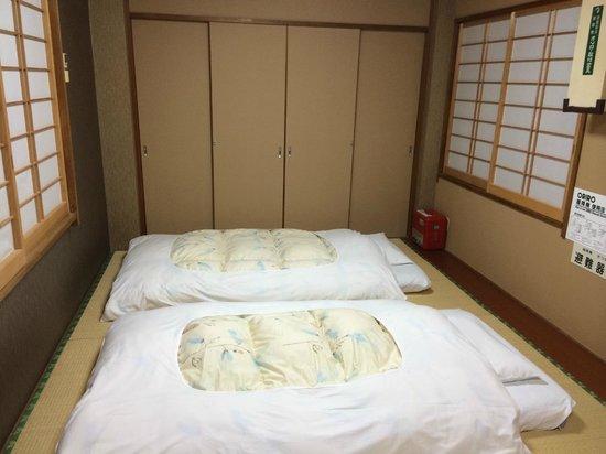 Ryokan Kamogawa : Futons