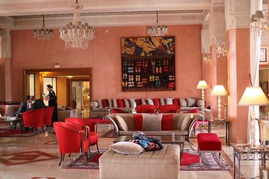 Sofitel Marrakech Palais Imperial : vue partielle du lobby