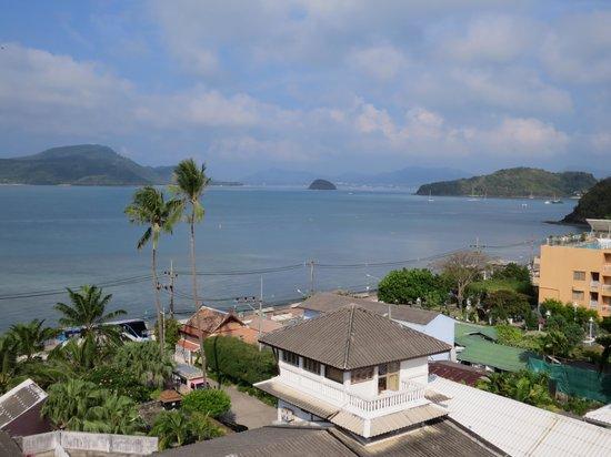 Kantary Bay, Phuket : the view from the Balcony