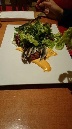 Bistró Guggenheim Bilbao: Un plato de pescado.