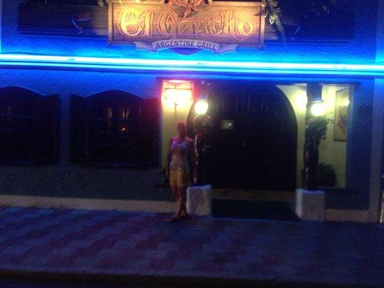 El Gaucho Argentine Grill : Hard to find