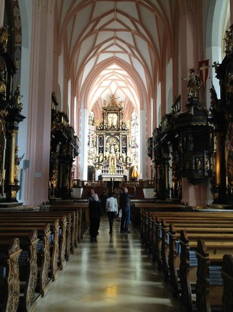 Panorama Tours Original Sound of Music Tour: Church where wedding scene was filmed
