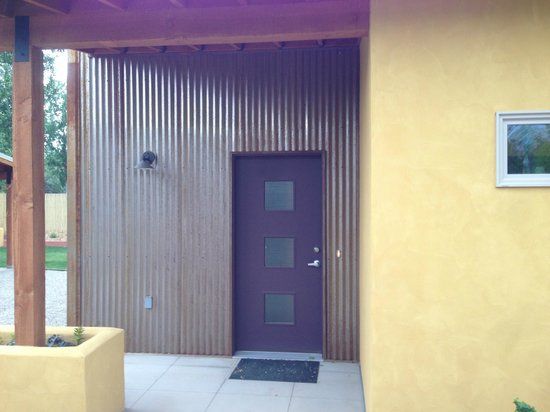 Westside Flats: Door to Entrada unit