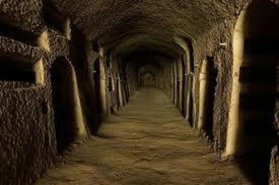 Catacombe di San Gennaro: catacombe s. gennaro