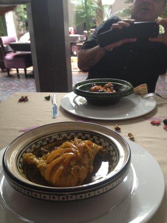 Ryad Amiran : Tajin de pollo y de cordero