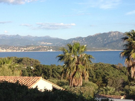 Residence Cantu di Mare : la vue de la terrasse