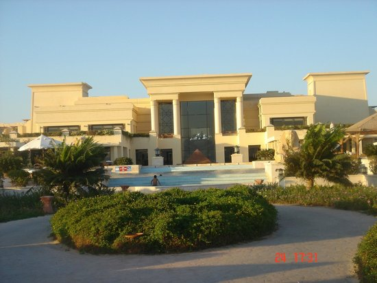 Sheraton Soma Bay Resort: Hotel facing the sea
