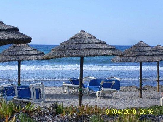 Bella Beach Hotel : Beach area