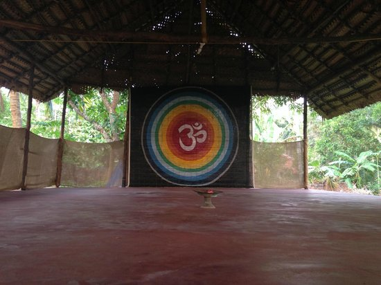Kadaltheeram Ayurvedic Beach Resort: Yoga und Meditationsfläche