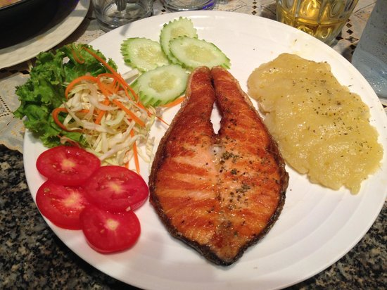 Tandoori Night's : salmone