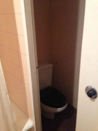 Hotel Palacio de Valderrabanos: baño viejo
