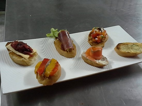 THINK Western Appetizer Picture of Think & Retro Cafe Lipa Noi