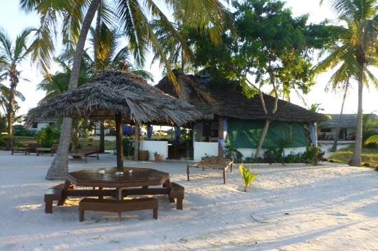 Kilwa Beach Lodge: espaces communs
