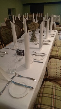 The Saddle Room Restaurant: Function Room