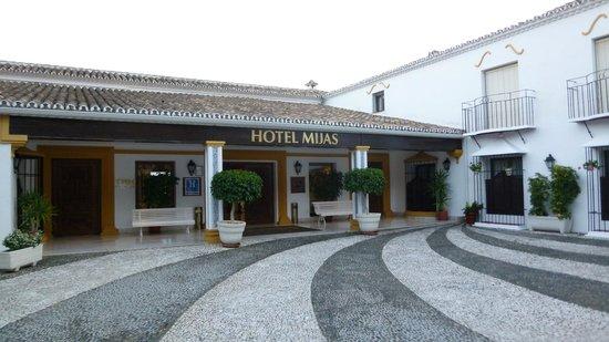 TRH Mijas: ホテルエントランス