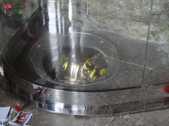 Sanctuaire Notre Dame de Lourdes : 今は触れることのできない泉