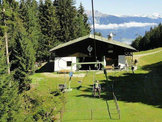 Tulfes, Austria: Bergstation zur Tulfeinalm