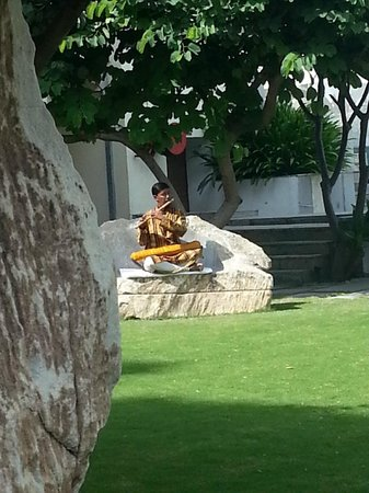 RAAS Devigarh: Man playing flute in morning