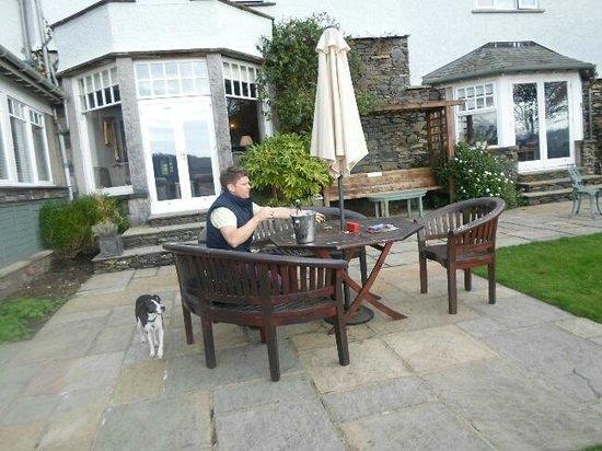 The Ryebeck: lovely garden