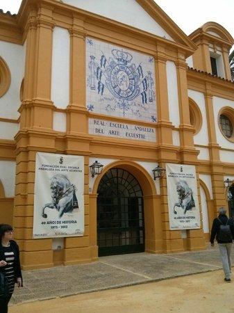 Fundación Real Escuela Andaluza del Arte Ecuestre : Entrada